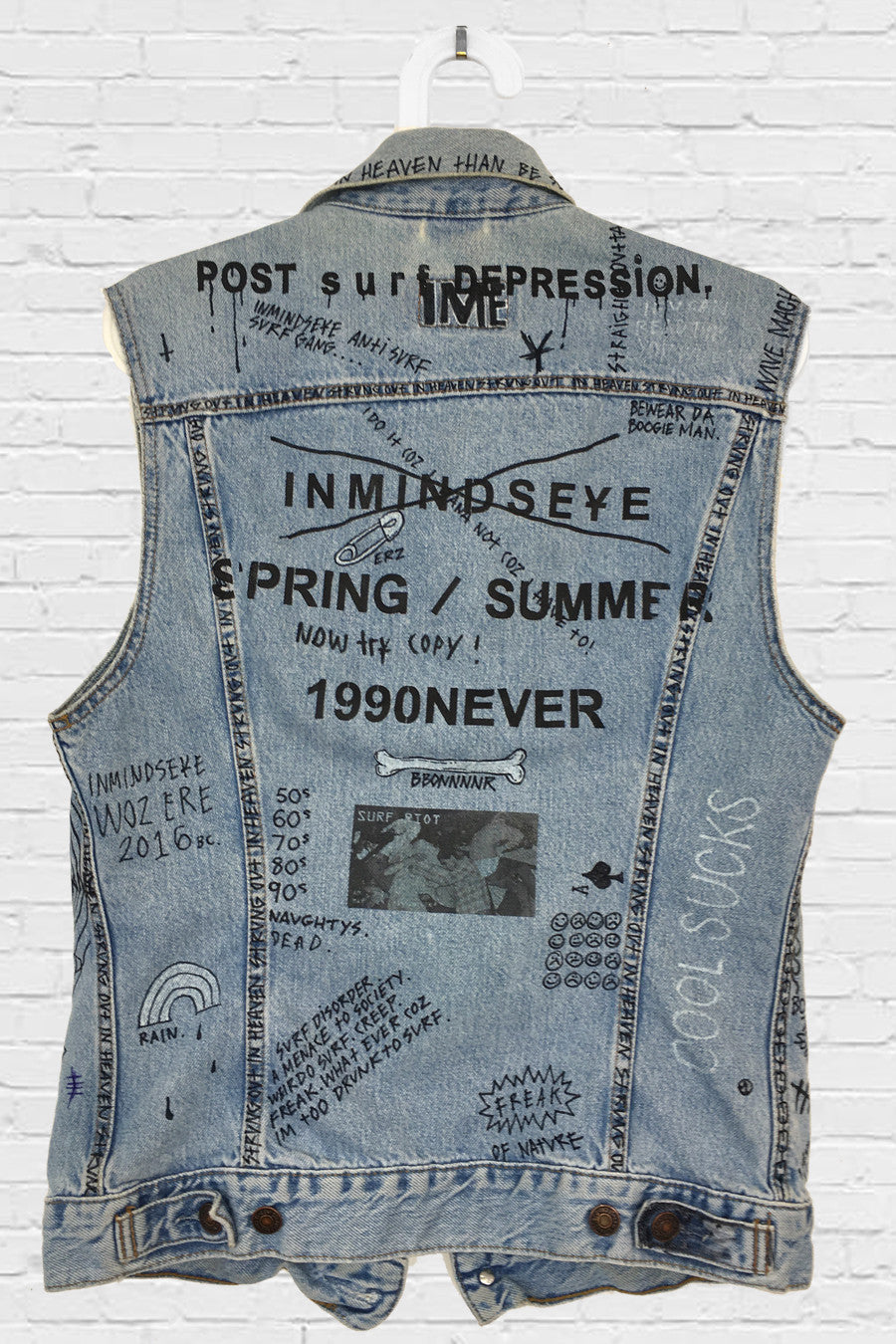 STRUNG OUT VEST / custom vest 1 of 1