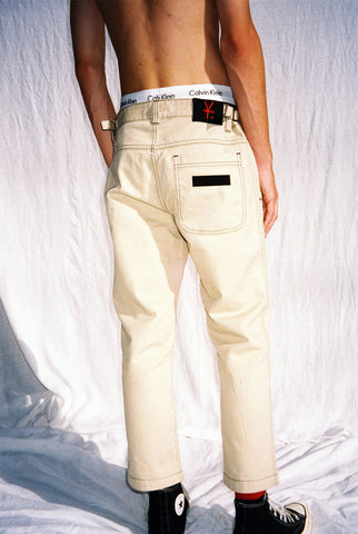 "SUPERNOVA PANT / WASHED TAN ""unisex"""