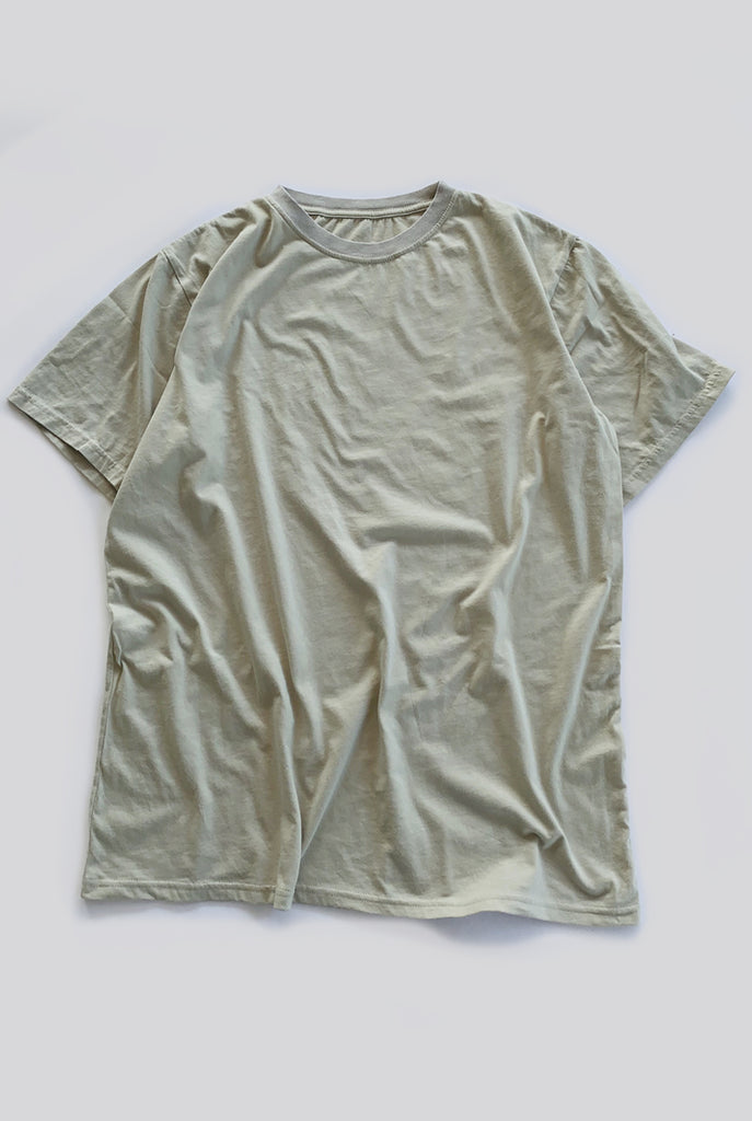 "EARTHCORE TEE / WASHED TAN ""unisex"""