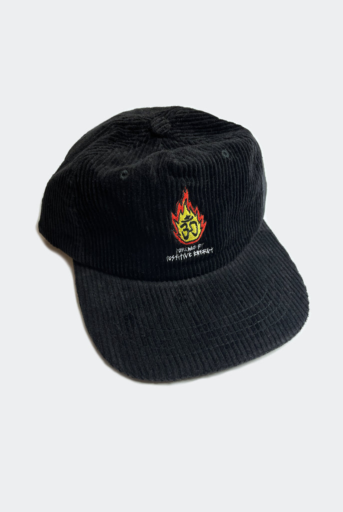 TORCHED CAP / BLACK