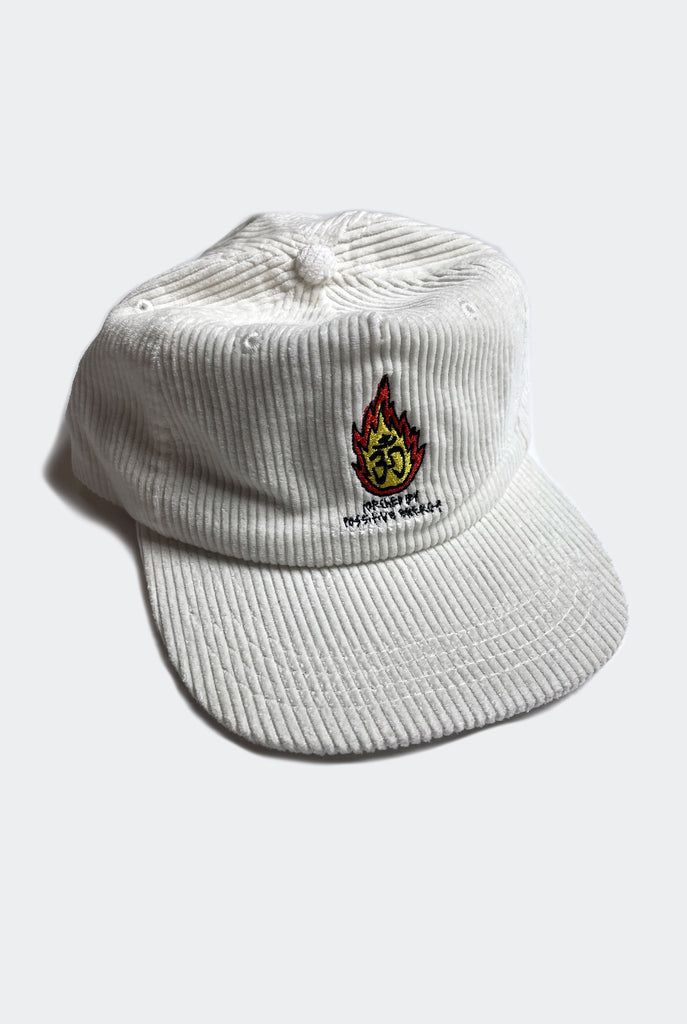 TORCHED CAP / WHITE