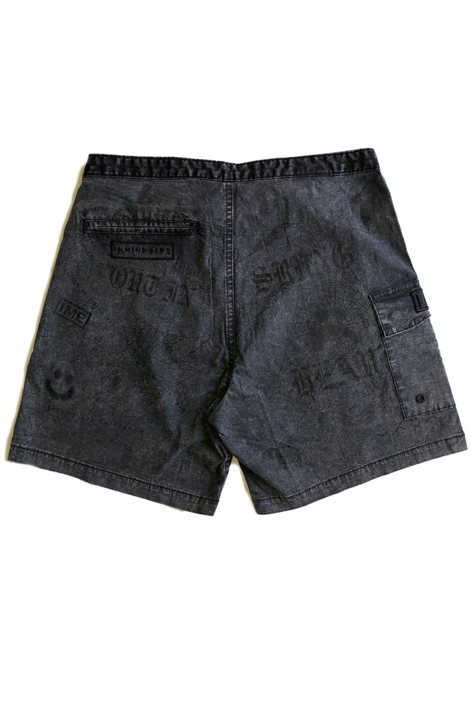 STRUNG OUT trunk / washed black