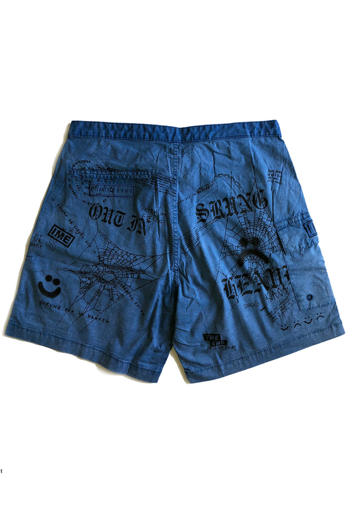 STRUNG OUT trunk / washed blue