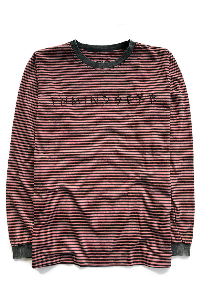 TEAM STRIPE 2.0 tee / vintage red