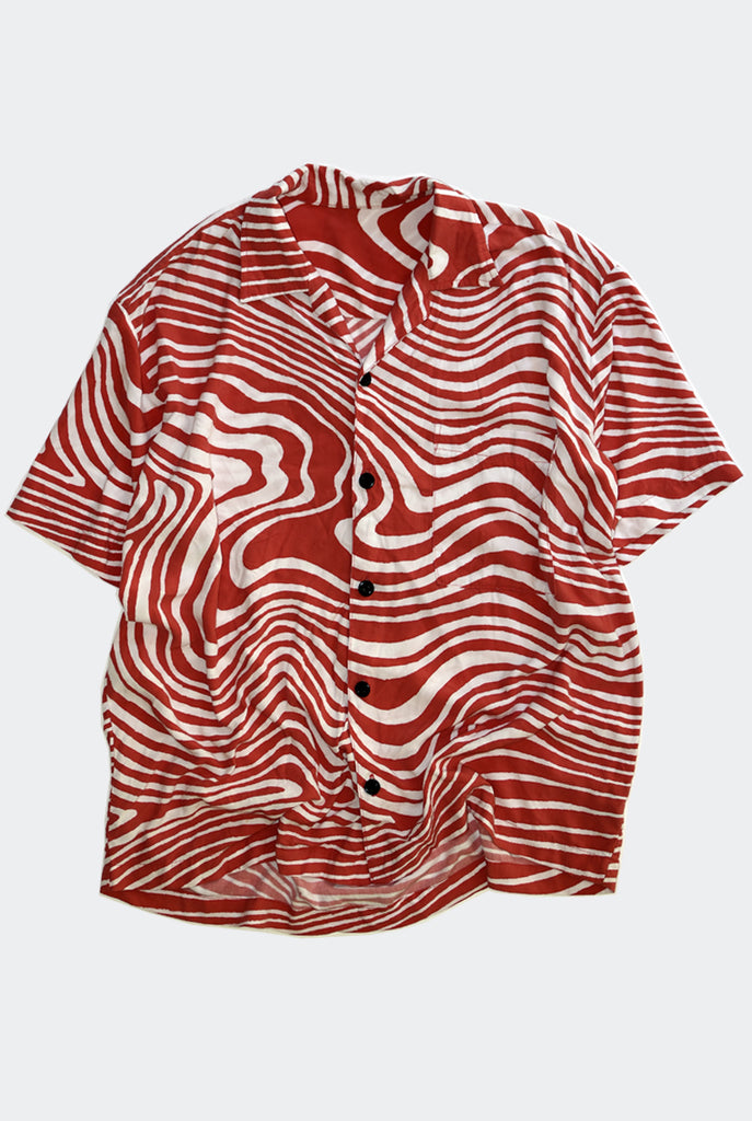 "WARP BOWLO SHIRT ""RED"" PREORDER"