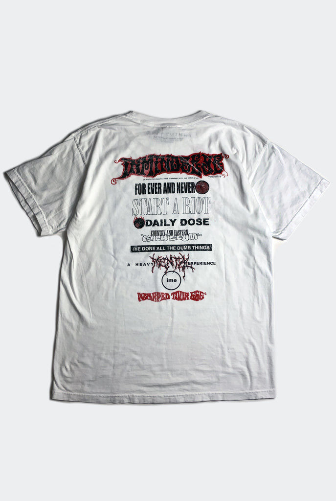 WARP TOUR TEE / WHITE