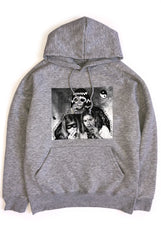 "TEENAGE MUTILATION hoodie ""grey marle"""