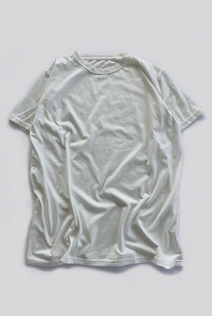 "EARTHCORE TEE / NATURAL WHITE ""unisex"""