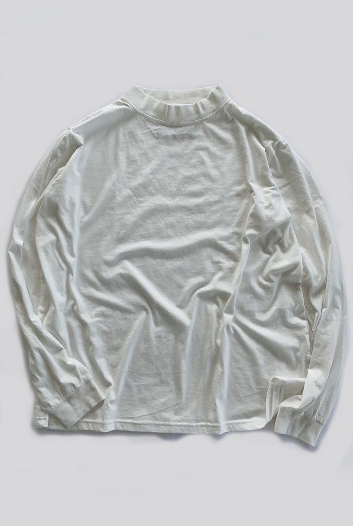 "EARTHCORE SKIVVY / NATURAL WHITE ""unisex"""