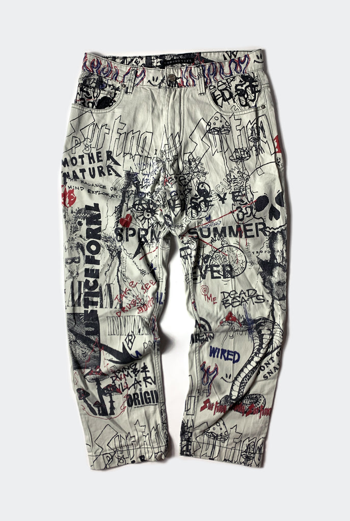 WIRED PANT / DIRTY WHITE