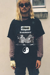 CHAOS IN HARMONY TEE / BLACK
