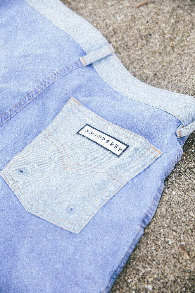 "the M O S H  trunk ""denim blue"""