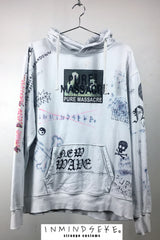 PURE MASSACRE HOOD / custom hoody 1 of 1