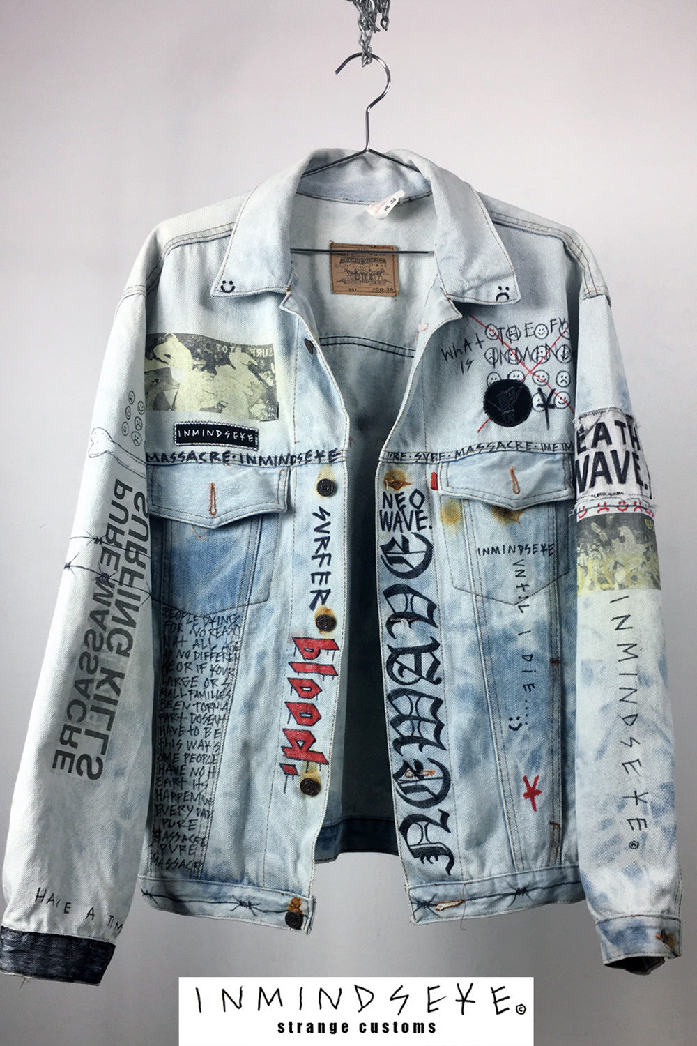 PURE MASSACRE JACKET / custom jacket 1 of 1