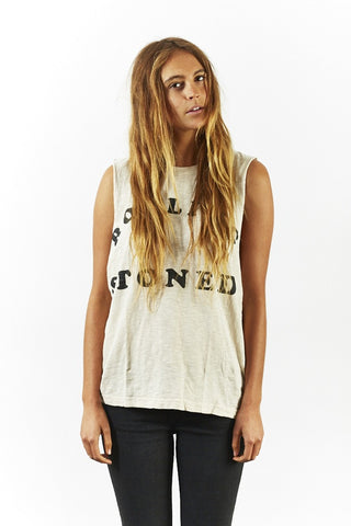 rolling stoned box fit tank unisex