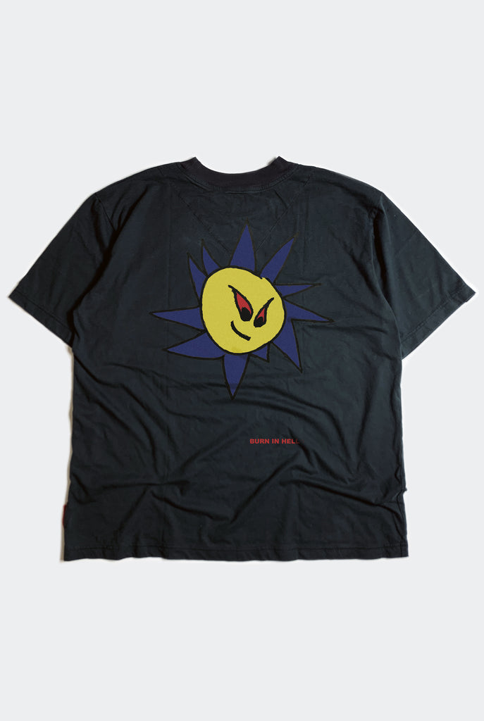 SUNNY SIDE TEE  / FADED BLACK PREORDER