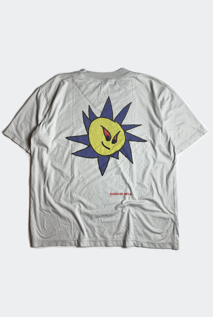 SUNNY SIDE TEE  / DIRTY WHITE PREORDER