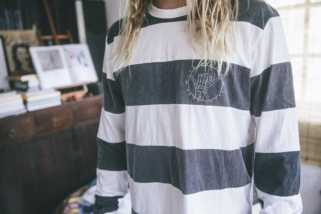 "team stripe tee ""unisex"""