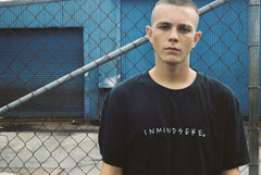 the INMINDSEYE tee / band tee black