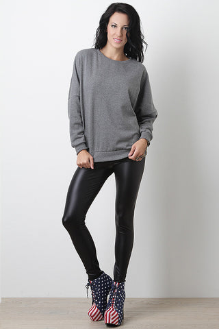 Lustrous Kiss Leggings - Beauty & Bronze Clothing and Accessories