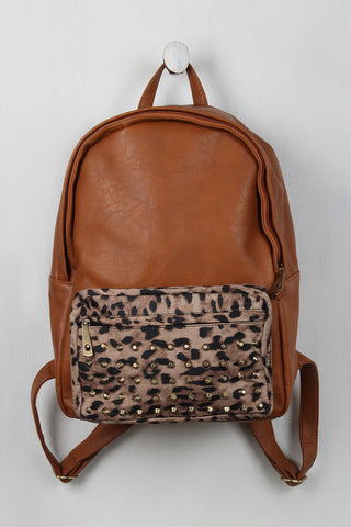 Wild One Vegan Leather Backpack - Beauty & Bronze Clothing and Accessories