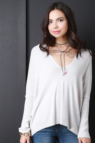 Boxy Soft Knit Dolman Top - Beauty & Bronze Clothing and Accessories