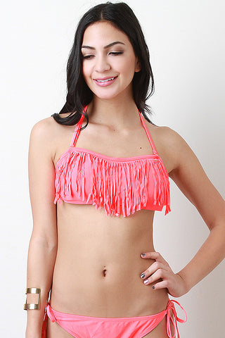 Waterfalls Cliff Bandeau Top - Beauty & Bronze Clothing and Accessories