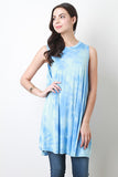 Pastel Tie Dye Trapeze Dress - Beauty & Bronze Clothing and Accessories
