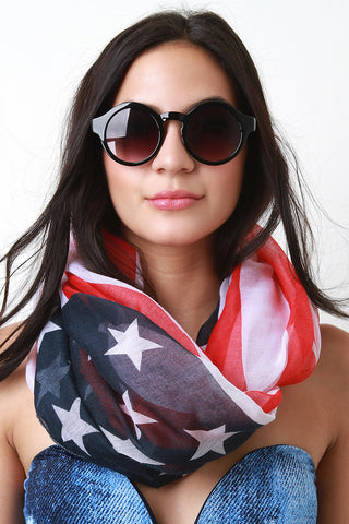American Infinity Scarf - Beauty & Bronze Clothing and Accessories