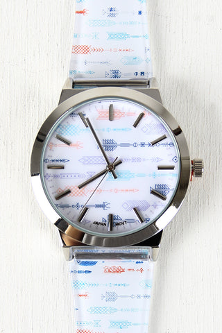 Multicolor Arrow Watch - Beauty & Bronze Clothing and Accessories