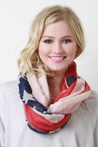 American Heritage Infinity Scarf - Beauty & Bronze Clothing and Accessories