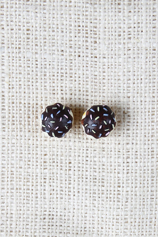 Chocolate Cupcake Earrings - Beauty & Bronze Clothing and Accessories