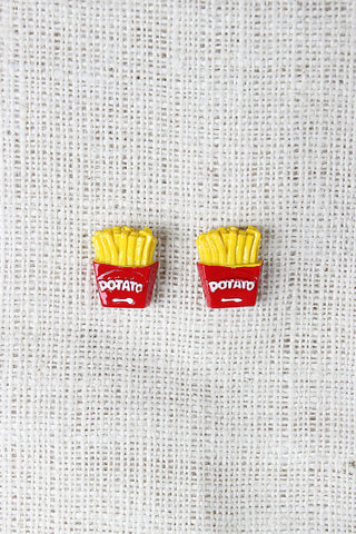 Fries Earrings - Beauty & Bronze Clothing and Accessories