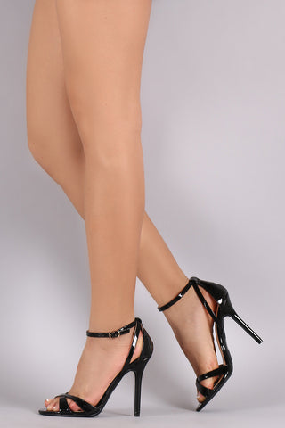 Wild Diva Lounge Patent Classy Open Toe Heel - Beauty & Bronze Clothing and Accessories