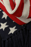 American Pride Knit Scarf - Beauty & Bronze Clothing and Accessories