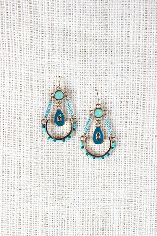 Chain Reaction Earrings - Beauty & Bronze Clothing and Accessories