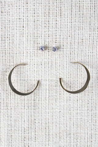 Hoop Dee Doo Earrings - Beauty & Bronze Clothing and Accessories