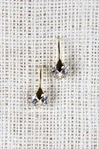 Crystal Drop Earrings - Beauty & Bronze Clothing and Accessories