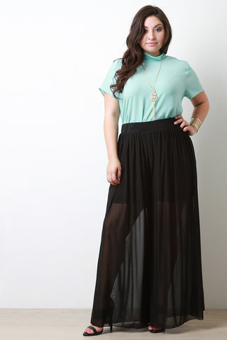 Mesh Maxi Pants - Beauty & Bronze Clothing and Accessories