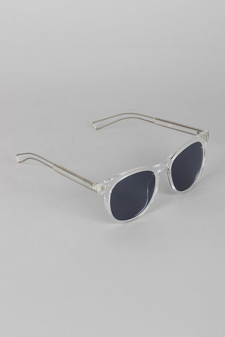 Classic Horn Rimmed Sunglasses - Beauty & Bronze Clothing and Accessories