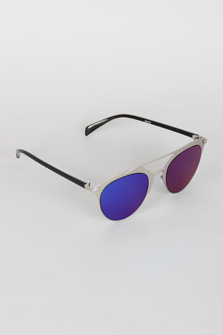 Double Bridge Matte Shooter Sunglasses - Beauty & Bronze Clothing and Accessories