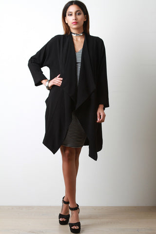 Boxy Crepe Jacket - Beauty & Bronze Clothing and Accessories