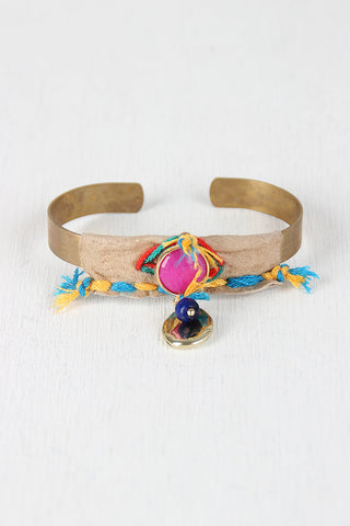 Crafty Aztec Cuff Bracelet - Beauty & Bronze Clothing and Accessories