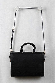 Classic Structured Rectangular Bag - Beauty & Bronze Clothing and Accessories