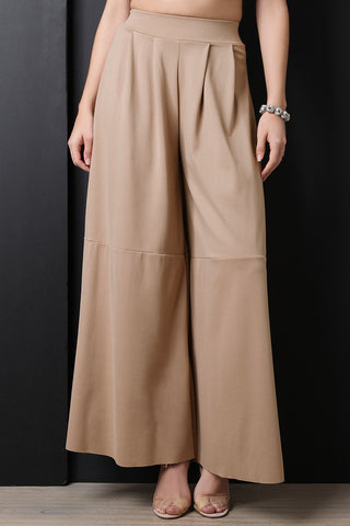 Wide Leg Palazzo Pants - Beauty & Bronze Clothing and Accessories