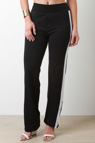 Panel Stripe Pants