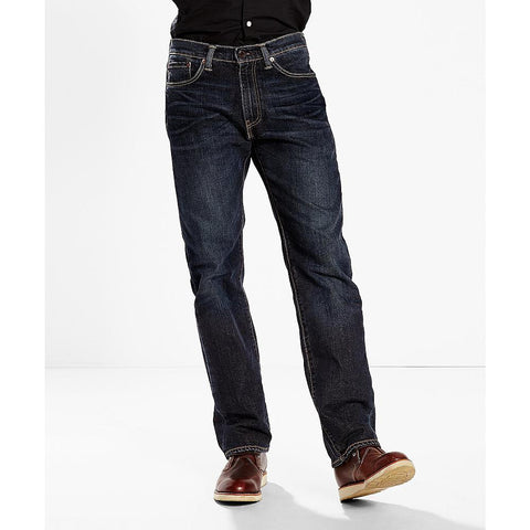 Levi's Men's Navarro 505 Regular Fit Jeans - Beauty & Bronze Clothing and Accessories
