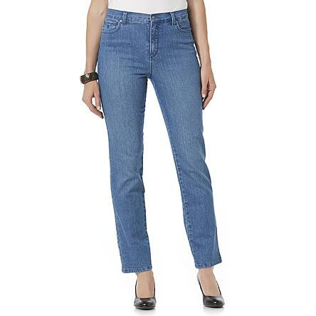 Gloria Vanderbilt Women's Classic Fit Blue Amanda Jeans - Beauty & Bronze Clothing and Accessories