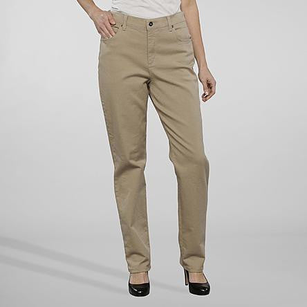 Gloria Vanderbilt Women's Classic Fit Latte Amanda Jeans - Beauty & Bronze Clothing and Accessories