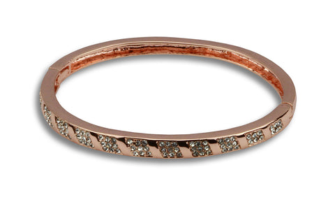 Rebecca rose gold bejewelled bracelet - Beauty & Bronze Clothing and Accessories